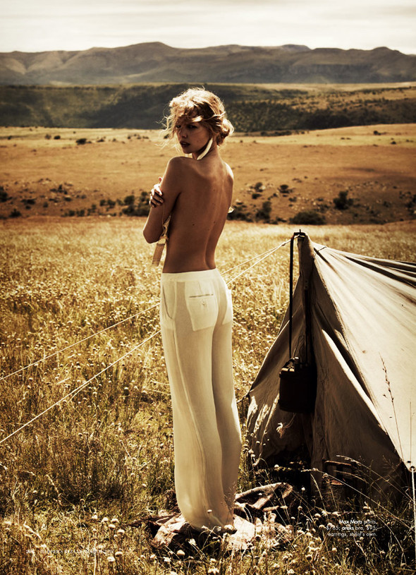 Marloes Horst by Will Davidson for Harpers Bazaar Australia March2012. Изображение № 5.