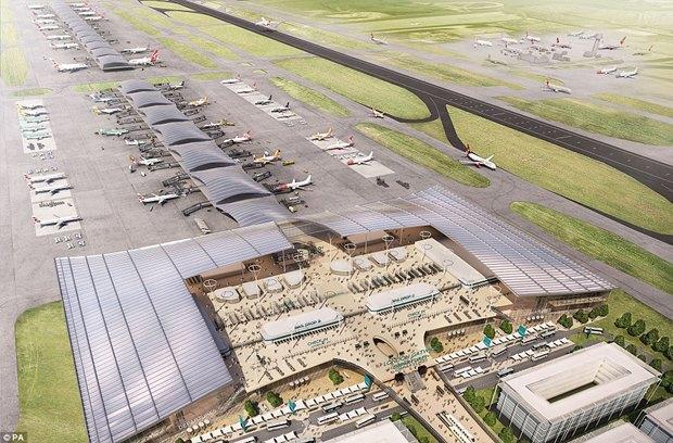 Архитектура дня: новый терминал аэропорта Гатвик под Лондоном. Изображение № 1.