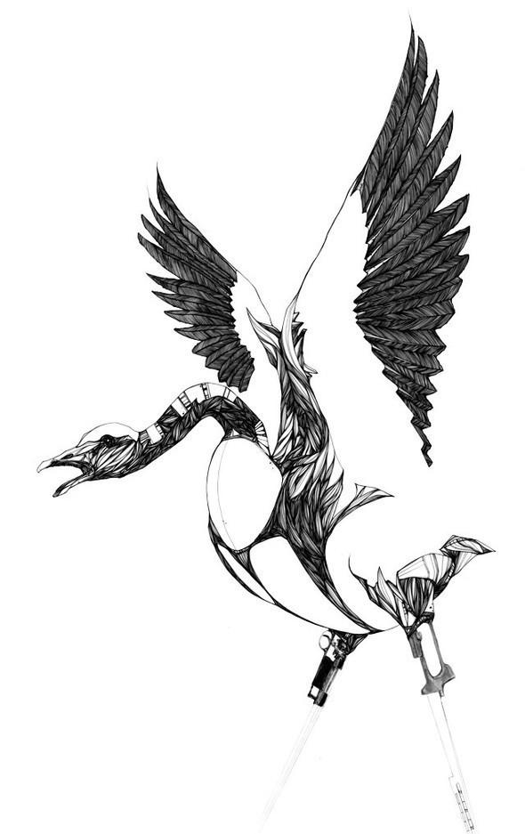 Креатив виллюстрациях отChow Martin. Изображение № 8.