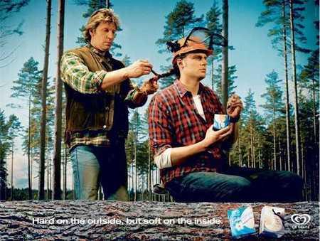 Леденящая воображение реклама мороженого. Изображение № 5.