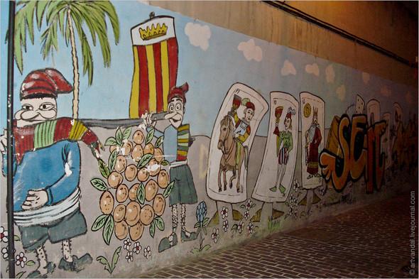 Стрит-арт и граффити Валенсии, Испания. Изображение № 48.