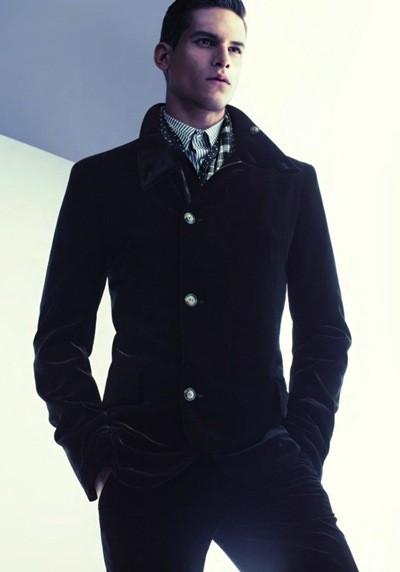 Кампания: Giorgio Armani FW 2011 Menswear. Изображение № 7.