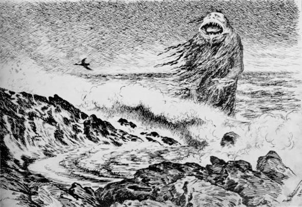 Теодор Киттельсен «Ненагруженный ужас». Изображение № 5.