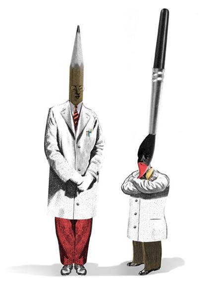 Юношеский Сюрреализм – Иллюстрации Брэтта Райдера. Изображение № 11.