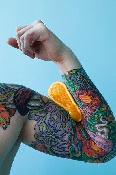 Самые аппетитные татуировки в Москве. Изображение № 5.