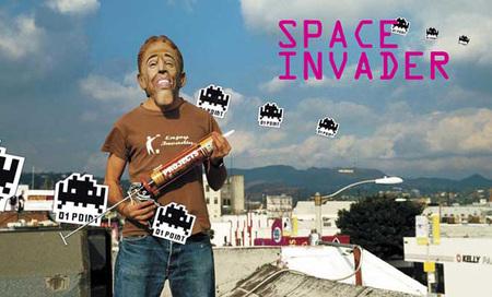 Space invaders — «Вторжение» вгорода. Изображение № 1.