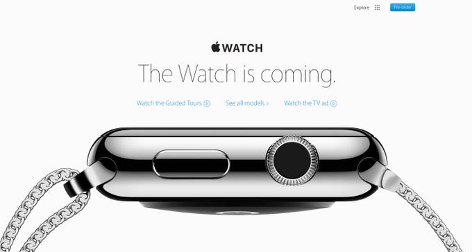Apple удалила дату начала продаж Watch с сайта . Изображение № 2.