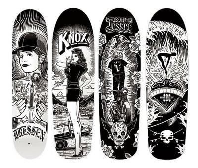 К доске: 10 художников-скейтбордистов. Изображение №54.