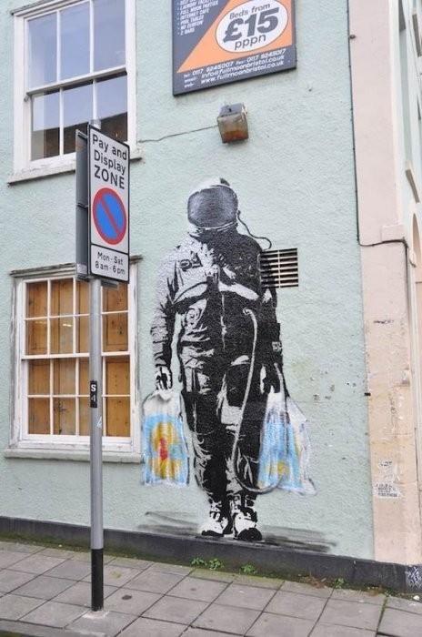 Изображение 34. Бристоль. Художественное граффити.. Изображение № 36.