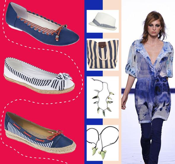 Тренды «Весна-Лето 2012»: синие сумерки High Street. Изображение № 5.