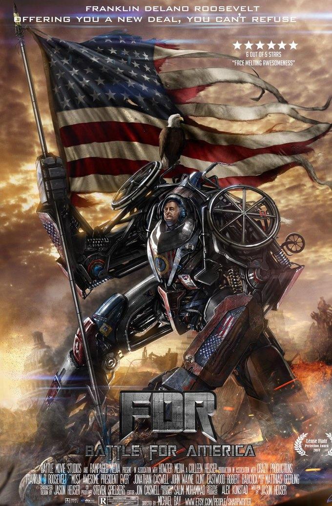 Американские президенты изображены героями игр. Изображение № 5.
