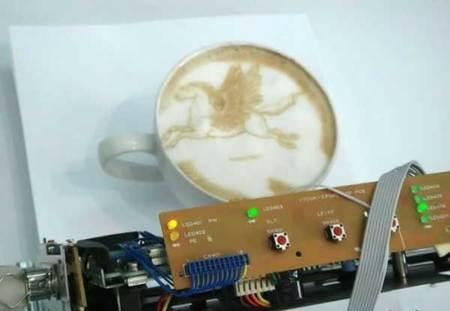 Принтер длякофе. Изображение № 1.