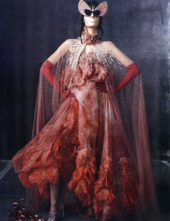 Съёмка: Лаура Кампман в объективе Стивена Майзела. Изображение № 8.