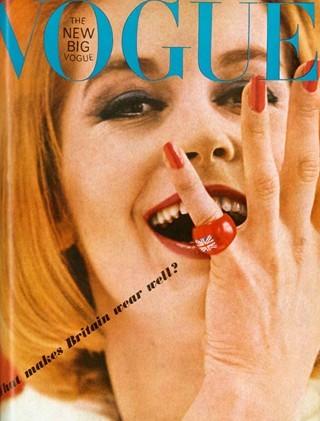 История глазами обложки Vogue (Британия). Изображение № 39.