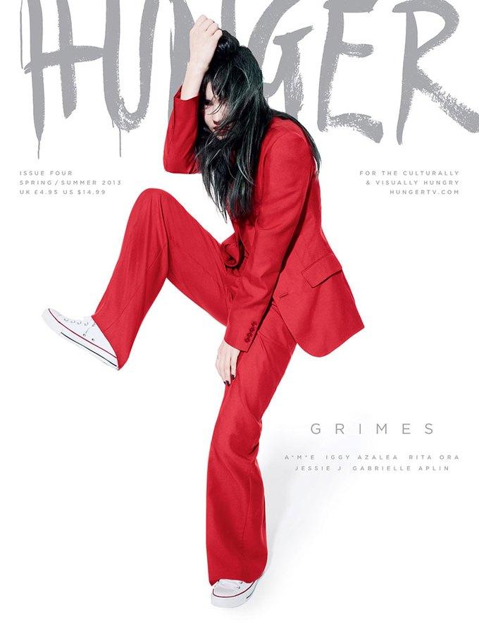 Показаны новые обложки Interview, T и Vogue. Изображение № 9.