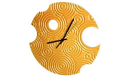 Необычные дизайнерские настенные часы. Изображение № 1.