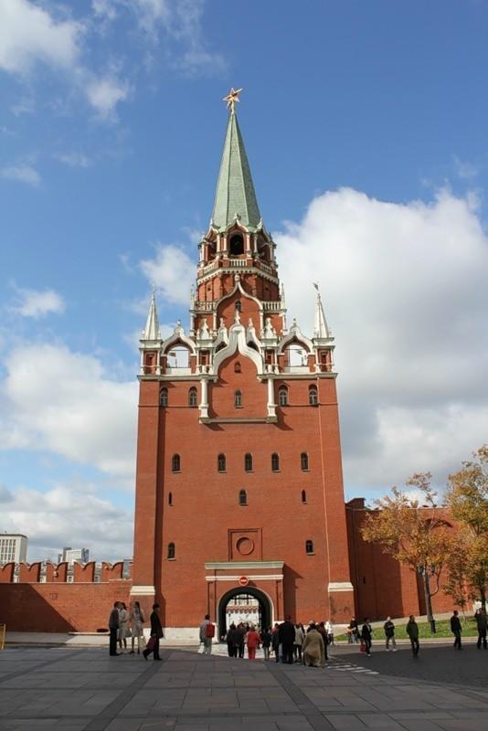 Интересные места России - Московский Кремль. Изображение № 2.