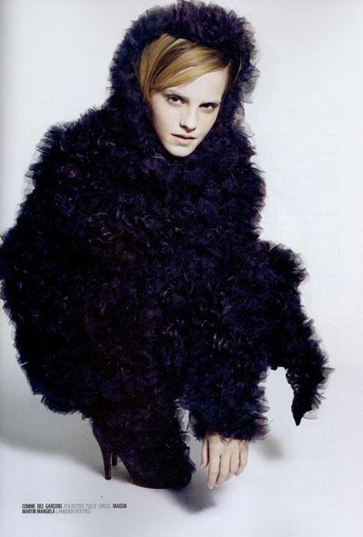 Карл Лагерфельд снял Эмму Уотсон дляжурнала Crush. Изображение № 8.