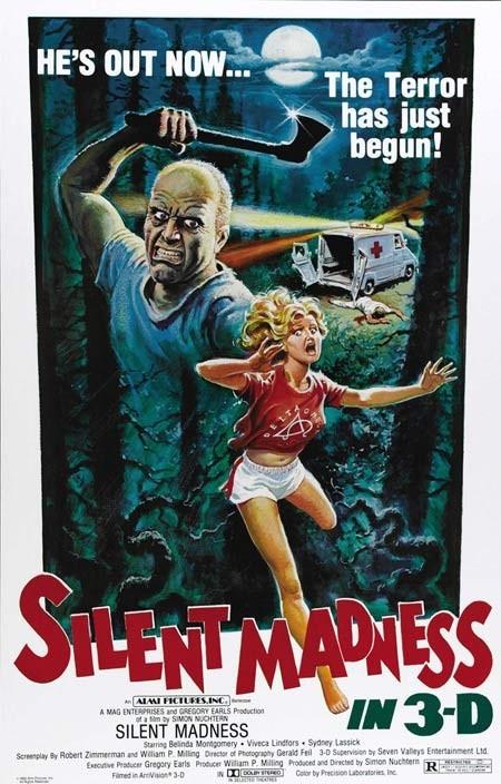 Афиши фильмов ужасов. Изображение № 96.