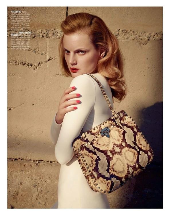 Съёмка: Жиневье ван Синус для Bergdorf Goodman. Изображение № 20.