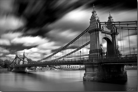 20 черно-белых фотографий мостов совсего мира. Изображение № 10.
