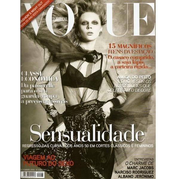 7 обложек сентябрьских номеров Vogue. Изображение № 7.