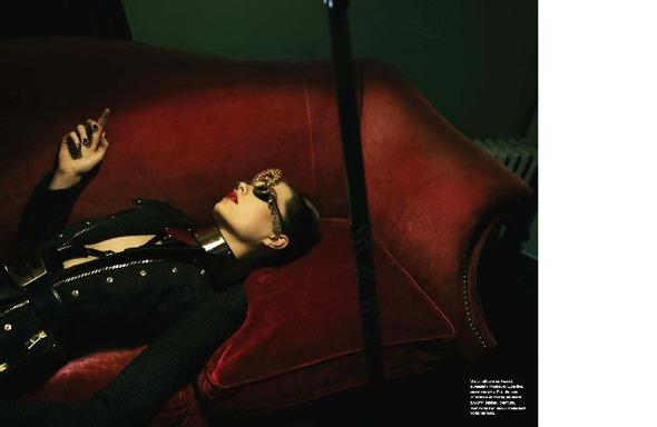 Съемки: Numero, Vogue, W и другие. Изображение №13.