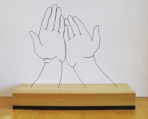 Скульптуры из проволоки Гэвина Ворта. Изображение № 7.