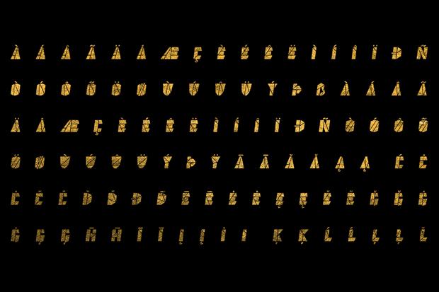 Дизайнер создал вдохновлённый Канье Уэстом шрифт . Изображение № 3.