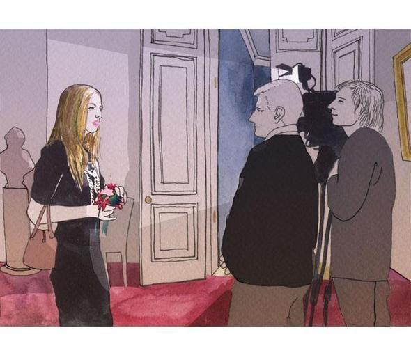 Изображение 22. Что происходит, когда иллюстратора пускают на модный показ.. Изображение № 20.