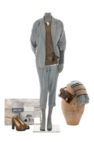 Brunello Cucinelli: лукбук осень-зима 2011/2012. Изображение № 57.