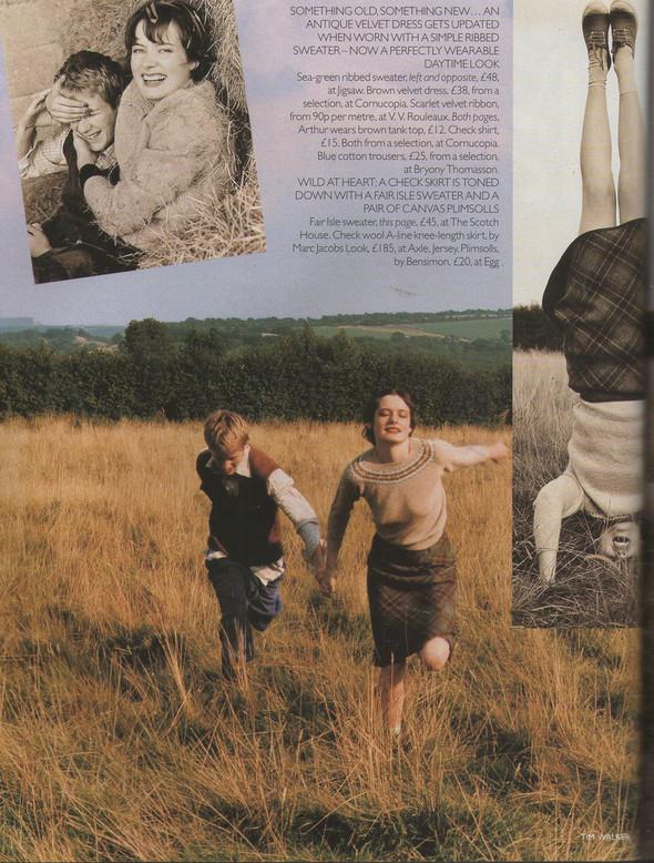 Архивная съёмка: Тим Уокер для Vogue, 1996. Изображение № 3.