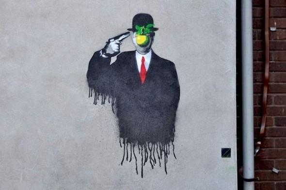 Изображение 8. Бристоль. Художественное граффити.. Изображение № 10.