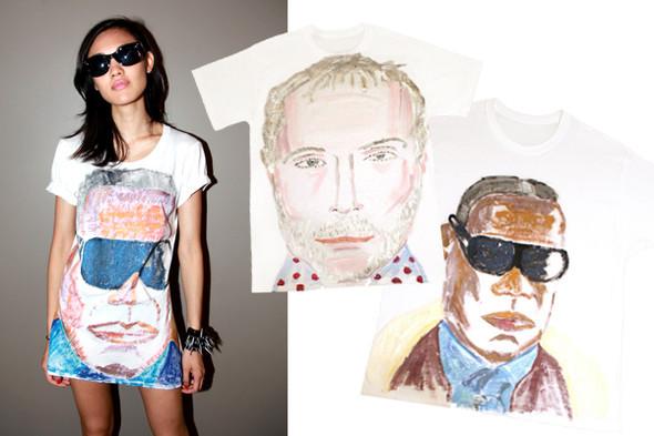 Début выпустили коллекцию футболок. Изображение № 2.