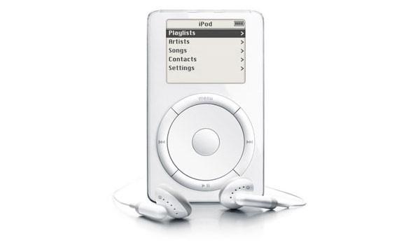 Ipod classic первого и второго поколения (начало выпуска - 2001 и 2002 года соответственно). Изображение № 2.