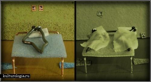 Микромиры, безумные миниатюры икрохотные персонажи. Изображение № 26.