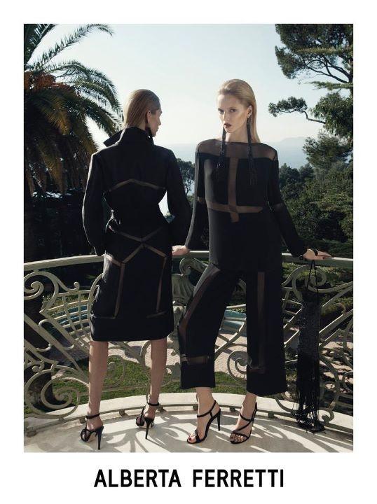 Превью кампаний: Alberta Ferretti, Gucci и другие. Изображение № 1.