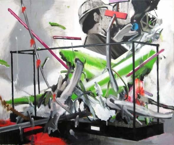 Checkpoint - выставка современной живописи. Изображение № 10.