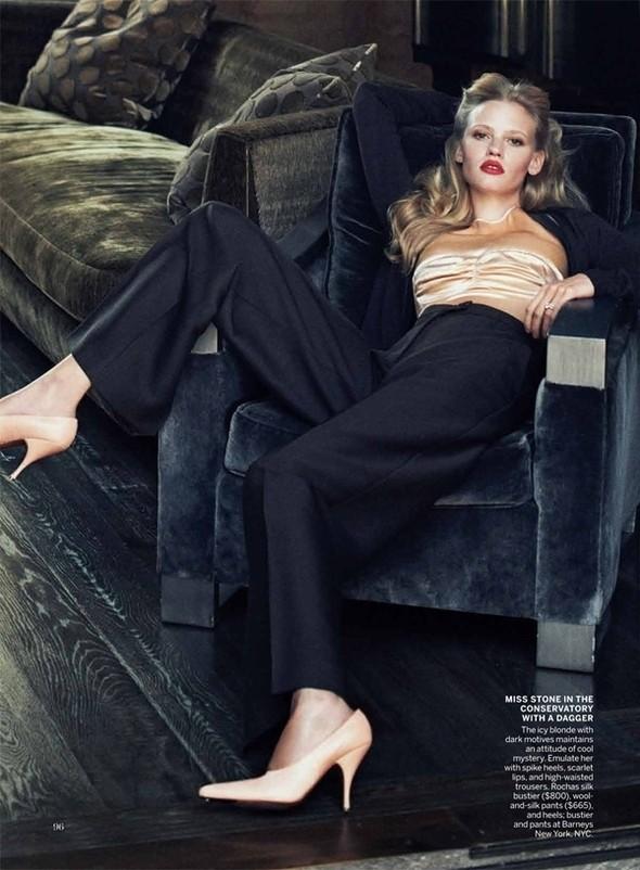 Изображение 45. Съёмки: Harper's Bazaar, Vogue, W и другие.. Изображение № 44.