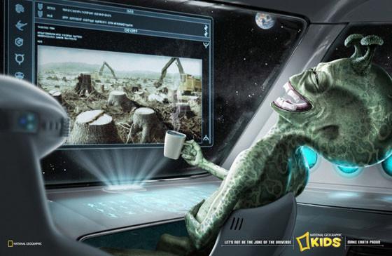Инопланетяне смеются над землянами. Изображение № 2.