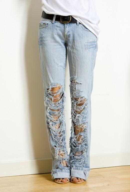 Каксобственноручно порвать джинсы. Изображение № 7.