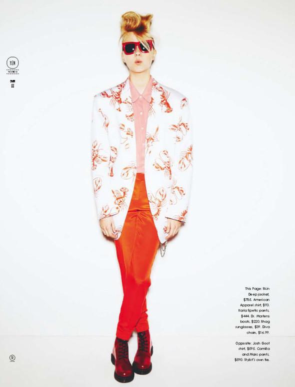 Съёмка: Сет Zoot из журнала Yen. Изображение № 1.