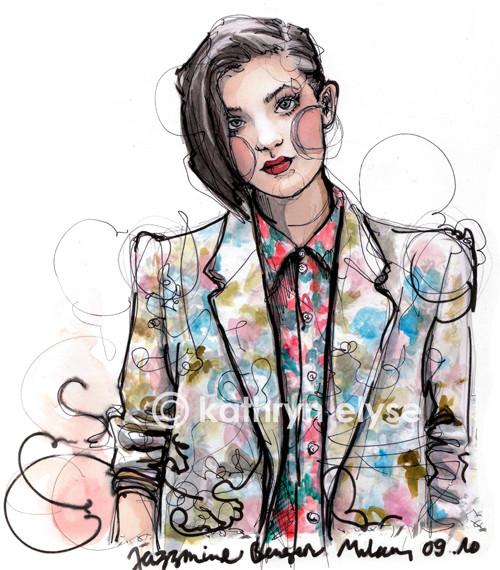Kathryn Elyse. Fashion Illustrations. Изображение № 11.