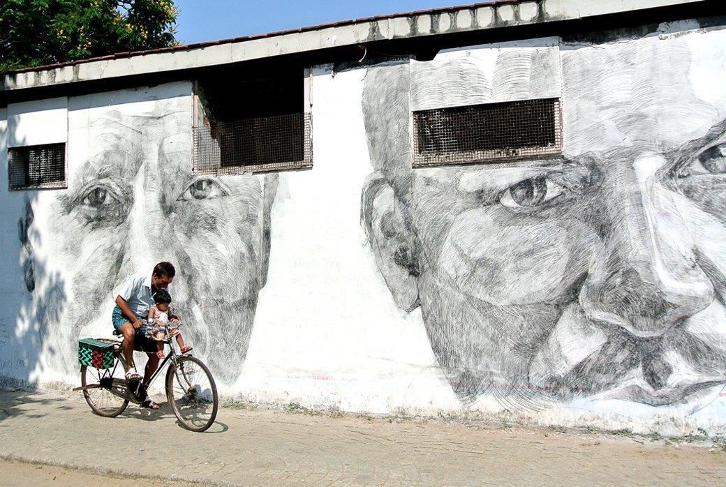 Репортаж с 1-й индийской биеннале: M.I.A., Бакштейн и граффити. Изображение № 4.
