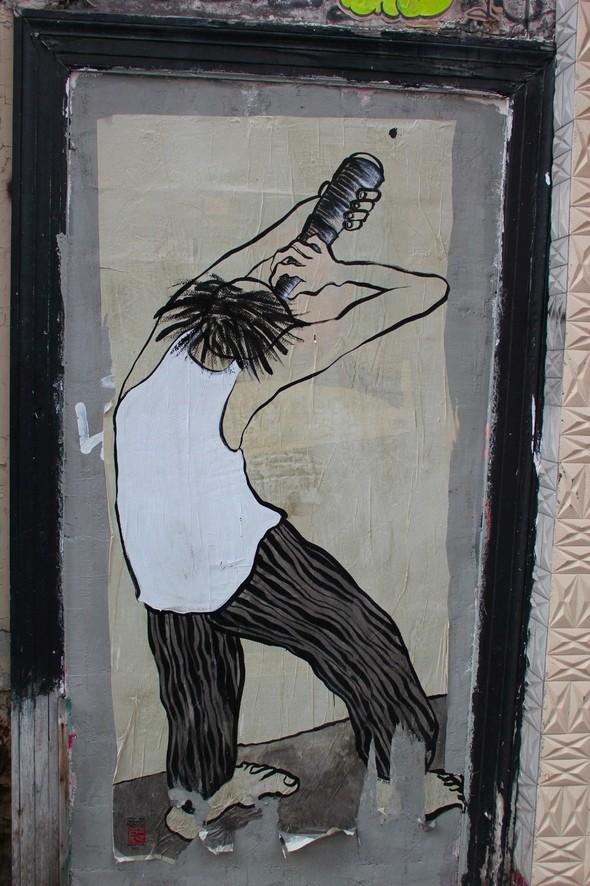 Стрит-арт центра Парижа. Изображение № 19.