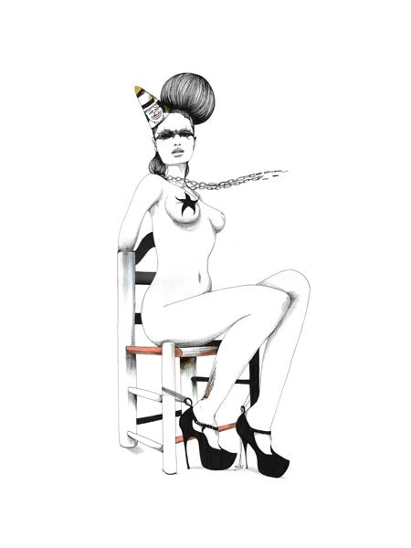 Иллюстрации Дэйвида Брэя грация исексуальный подтекст. Изображение № 17.