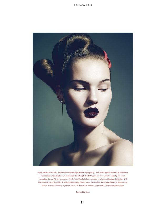 Вышли новые съемки из Bon, Flair, Vogue и других журналов. Изображение № 5.