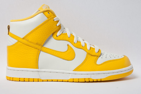 NIKE DUNK HIGH (VARSITY MAIZE). Изображение № 3.