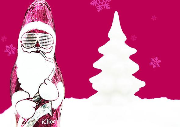 Хипстерский Шоколадный Дед Мороз FREAKY NEW YAER, BABY )). Изображение № 1.