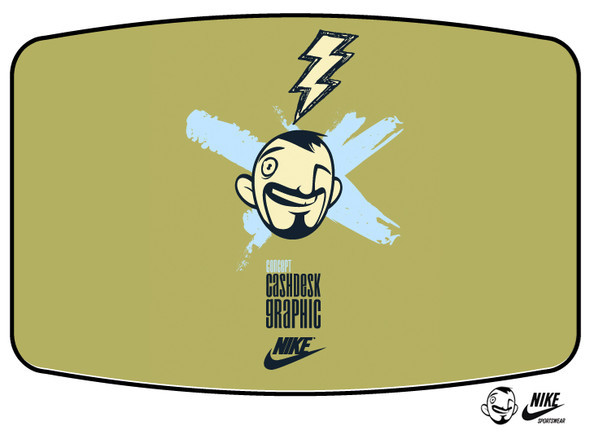 CASHDESK GRAPHIK FOR NIKE. Изображение № 1.